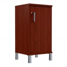 Шкаф колонка низкая с замком в глухой малой двери 411.3(RZ)