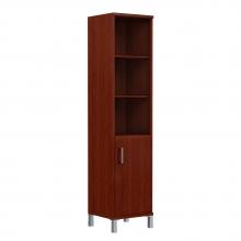 Шкаф колонка высокая с глухой малой дверью 431.2 (L/R)