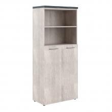 Шкаф с глухими средними дверьми и топом THC 85.6
