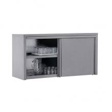 Полка кухонная закрытая нержавеющая ПЗК-800-Н-ЮТ