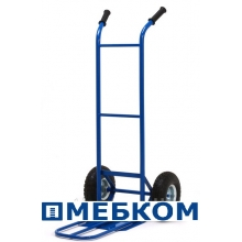 Тележка ручная с откидной полкой Д-150П (цена без учета стоимости колес)