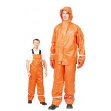 """Костюм влагозащитный """"Fisherman"""" оранжевый с полукомбинезоном"""