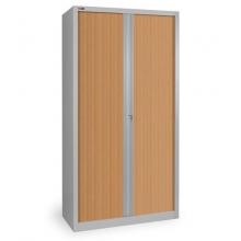 Шкаф офисный КД-144 (4 полки) с дверьми-жалюзи