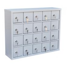 Шкаф для хранения мобильных телефонов на 20 ячеек ( Сотел-20)