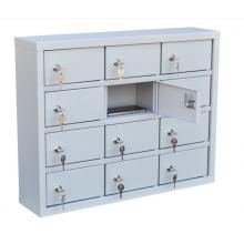 Шкаф для хранения мобильных телефонов на 12 ячеек ( Сотел-12)