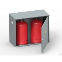Шкаф для газовых баллонов ШГР 27-2 -4 (2х27л)