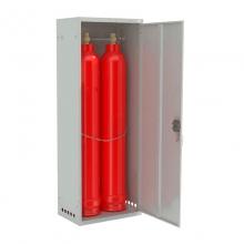 Шкаф для газовых баллонов ШГР 40-2-4(2x40л)