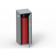 Шкаф для хранения газовых баллонов ШГР 50-1-4(50л)