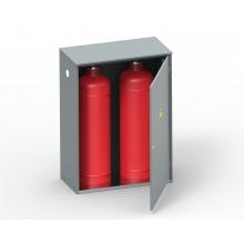 Шкаф для хранения газовых баллонов ШГР 50-2-4 (2х50л)