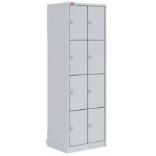 Металлический шкаф для одежды ШРМ-28 new