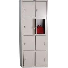 Металлический шкаф для раздевалок - ПРАКТИК LS-24