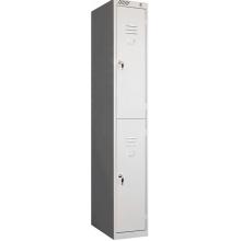 Модульный металлический шкаф для одежды ШРС-12-300