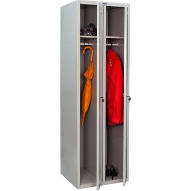 Металлический шкаф для раздевалок ПРАКТИК LS-21 в Краснодаре
