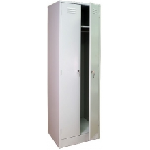 Металлический шкаф для одежды ШРМ 22-800