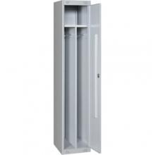 Металлический шкаф для одежды ШМ-21(400)