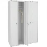 Металлический шкаф для одежды ШМ-44(1000)