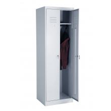 Металлический шкаф для одежды ШР-22-600