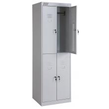 Металлический шкаф для одежды ШРК-24-600
