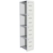 Шкафы для раздевалок ПРАКТИК ML 04-30 (ДОПОЛНИТЕЛЬНЫЙ МОДУЛЬ)