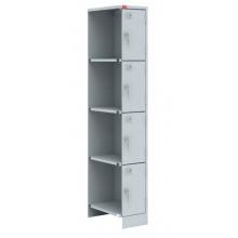 Металлический шкаф для одежды ШРМ - 14 - Модульный